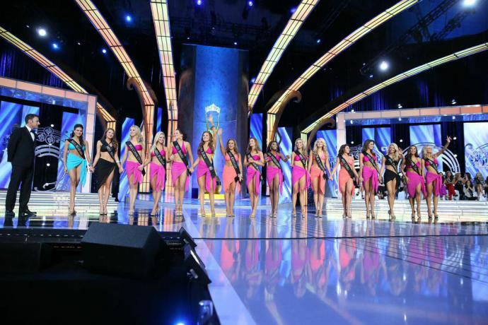 the miss america swimsuit competition
