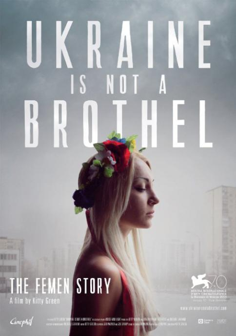 ukraine is not a brothel poster