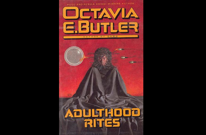 the cover of octavia butler's book