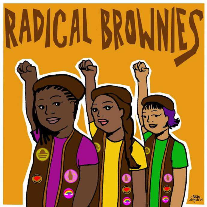 radical brownies logo