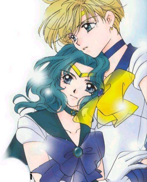 sailor neptune and uranus cuddle