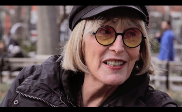 kate bornstein in a trailer for the new film