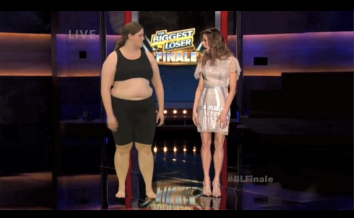 a still from The Biggest Loser
