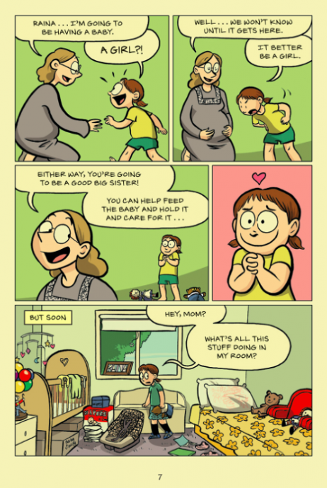 new graphic novel sisters captures the joys and troubles of