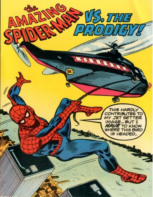 In a Bizarre 1976 Comic Book, Spider-Man Fought the Villain