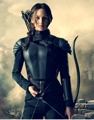katniss in revolutionary apparel