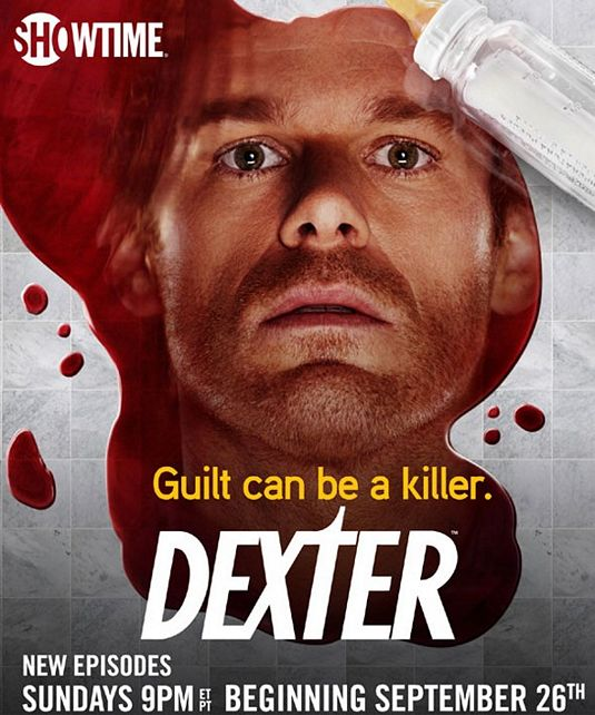 Dexter Season 5 Poster: Guilt Can Be A Killer