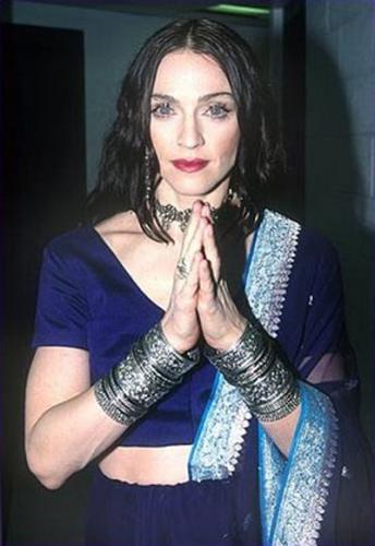 "Madonna is ""spiritual"" and/or ""Indian"""