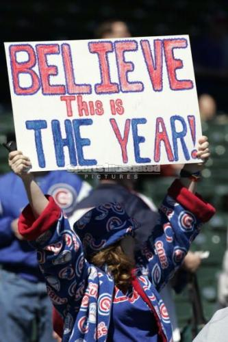 Cubs fan believes