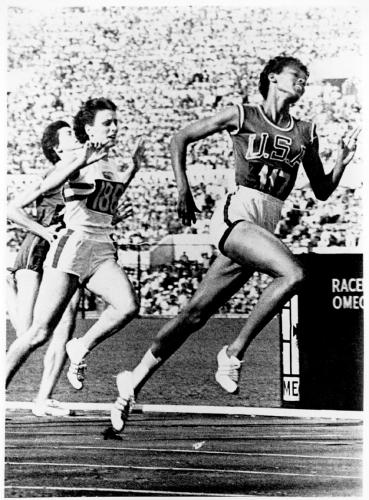 Wilma Rudolph in Rome