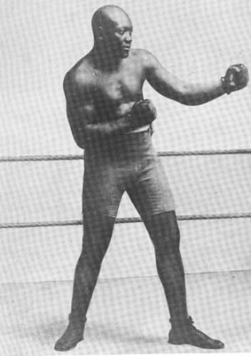 Boxing great Jack Johnson