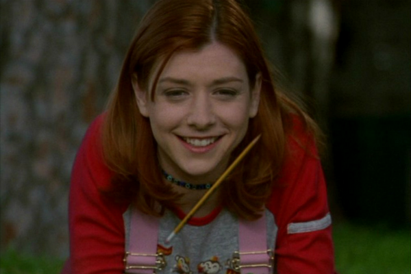 Willow Rosenberg learns magic